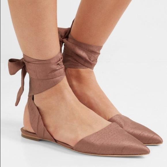 a761f166c Sam Edelman Brandie Dupion Pointed Toe Flats. M 5a7f245661ca1050c35aa00f